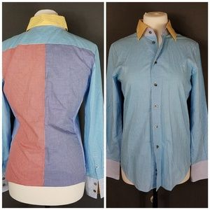 4 for $10- Size 4 button down Blouse